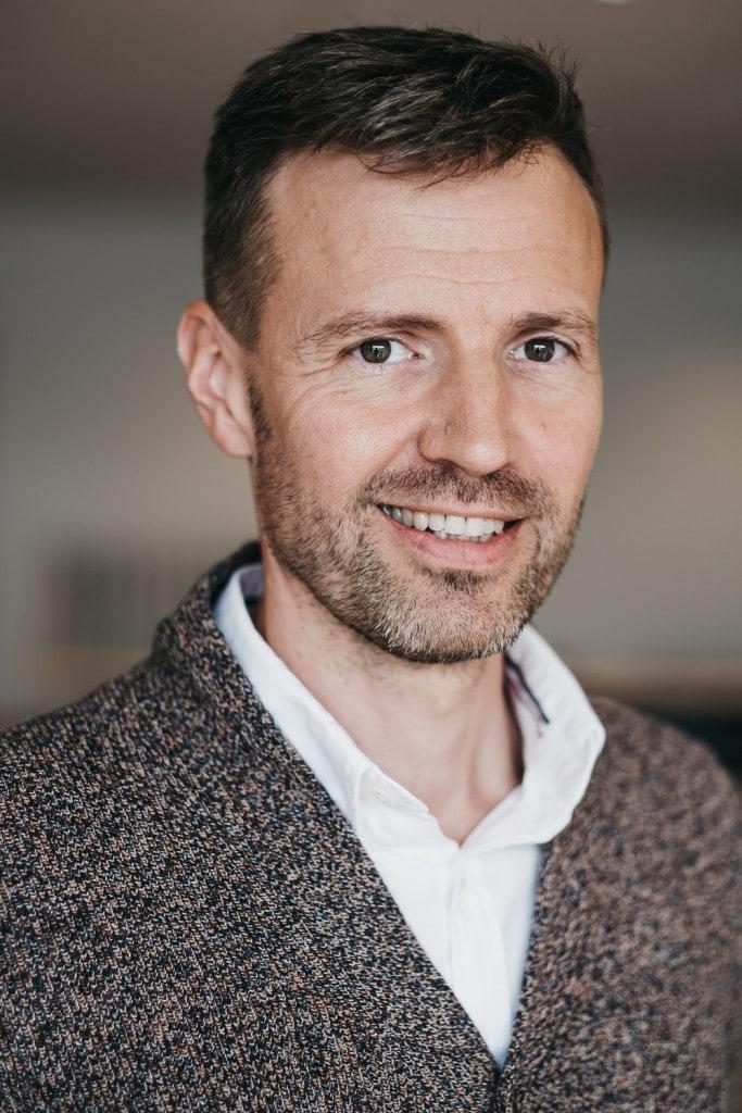 Portrettbilde av Sales Manager for Element Logic Norge, Øyvind Kollerud.