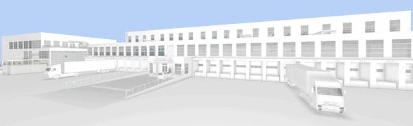 Rambergs moderne logistikksenter
