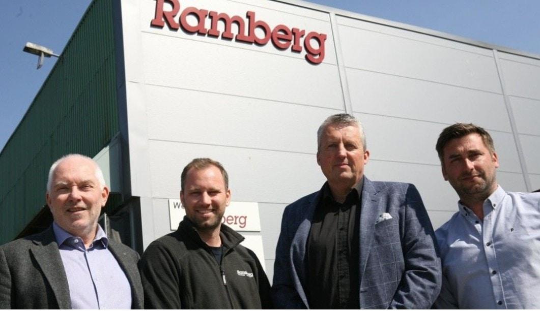 Ansatte i ledelsen hos Ramberg
